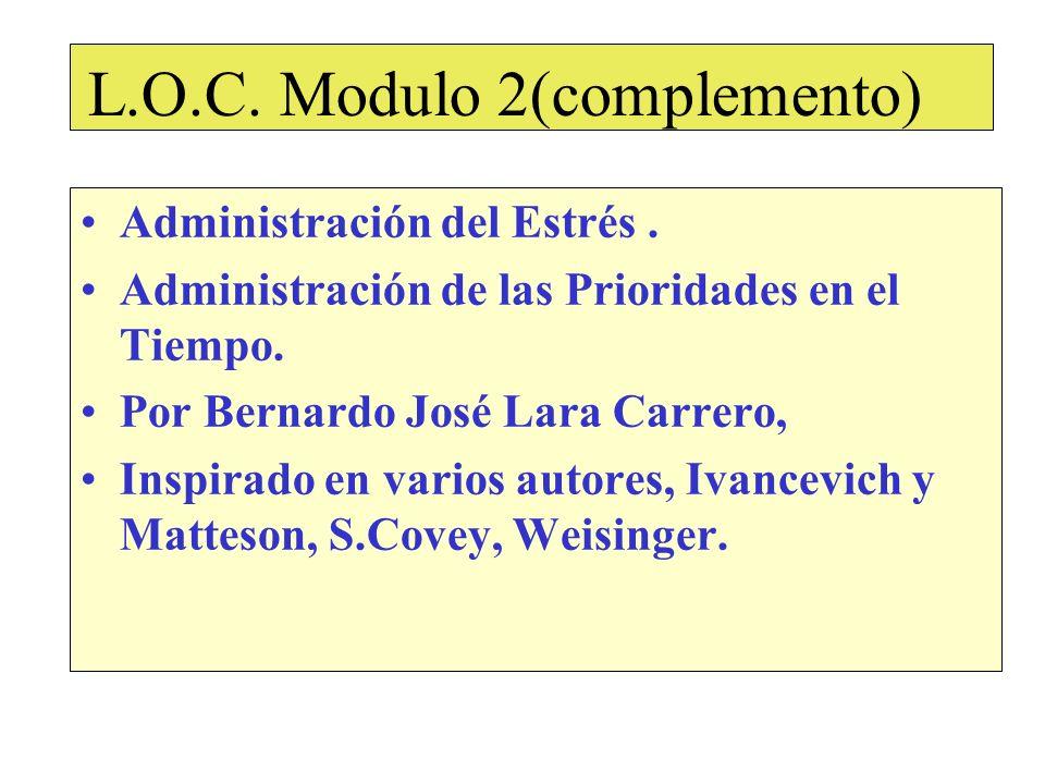 L.O.C. Modulo 2(complemento)