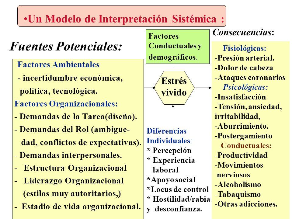 Un Modelo de Interpretación Sistémica :