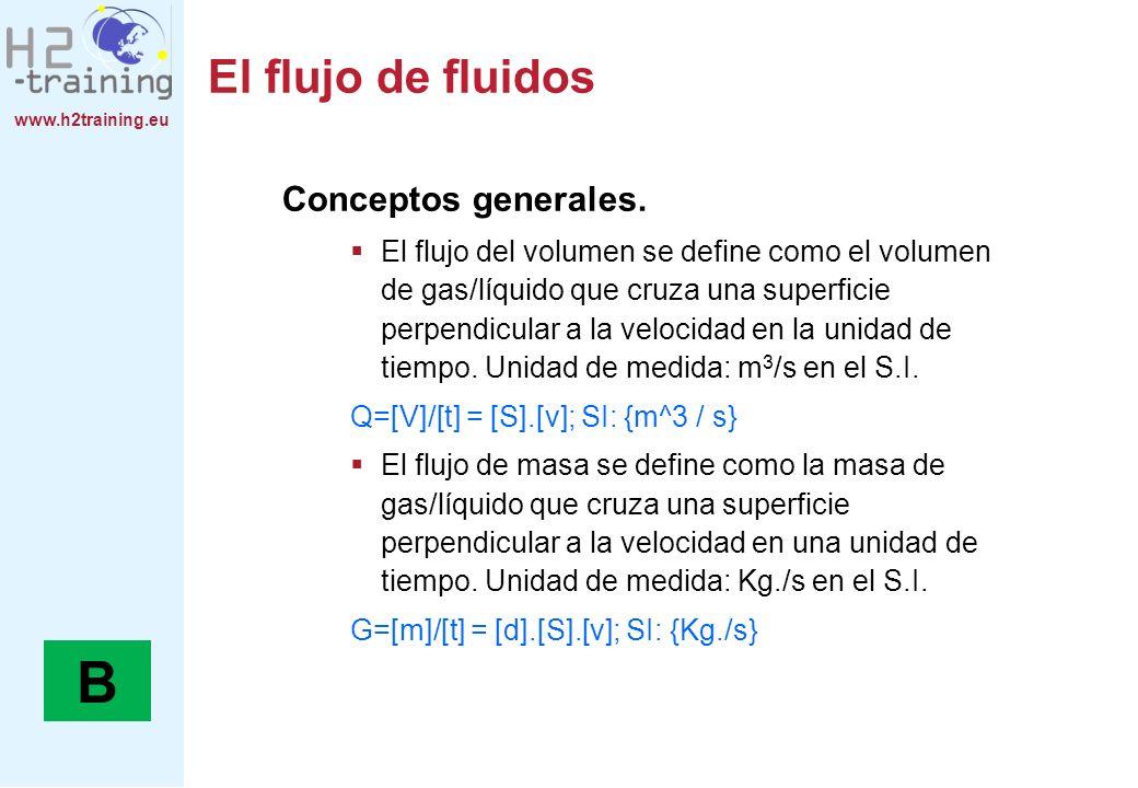 B El flujo de fluidos Conceptos generales.