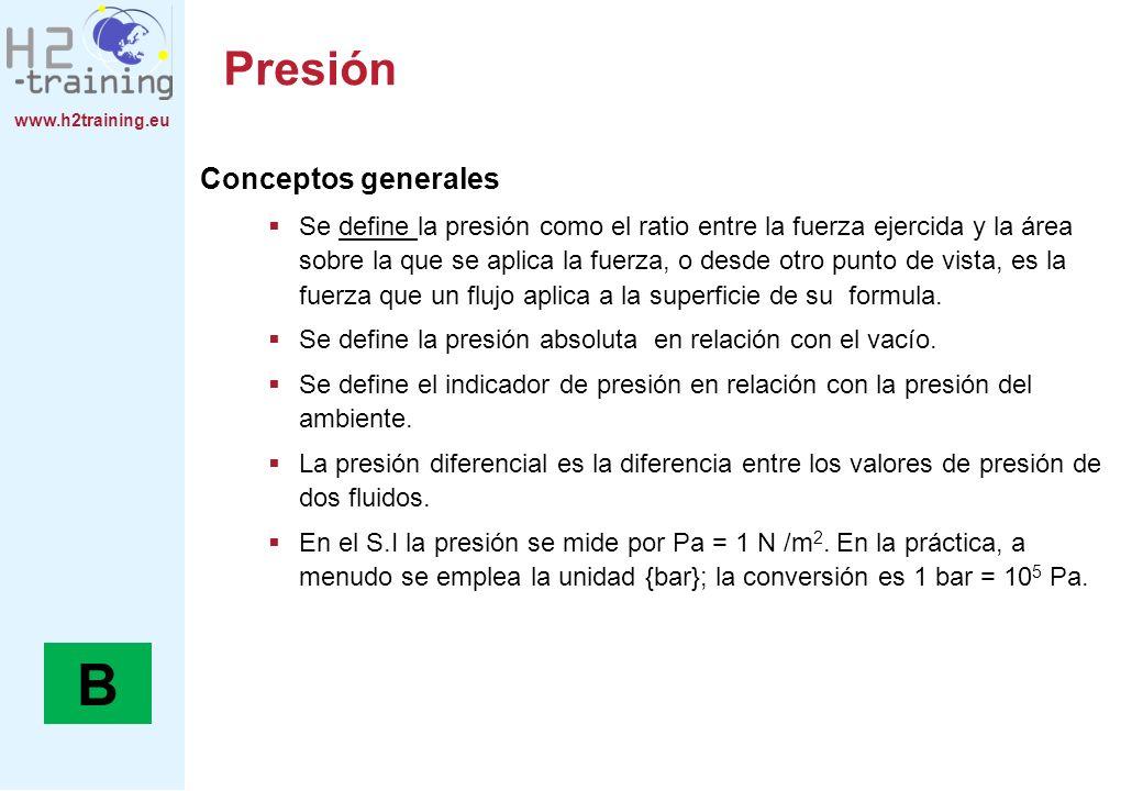 B Presión Conceptos generales