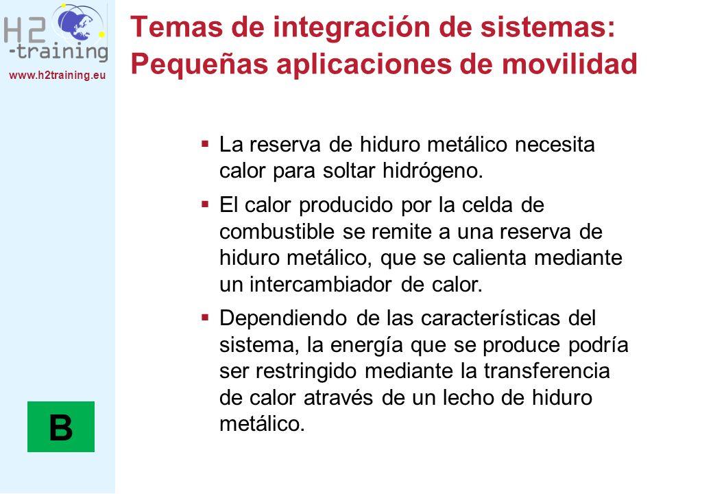 Temas de integración de sistemas: Pequeñas aplicaciones de movilidad