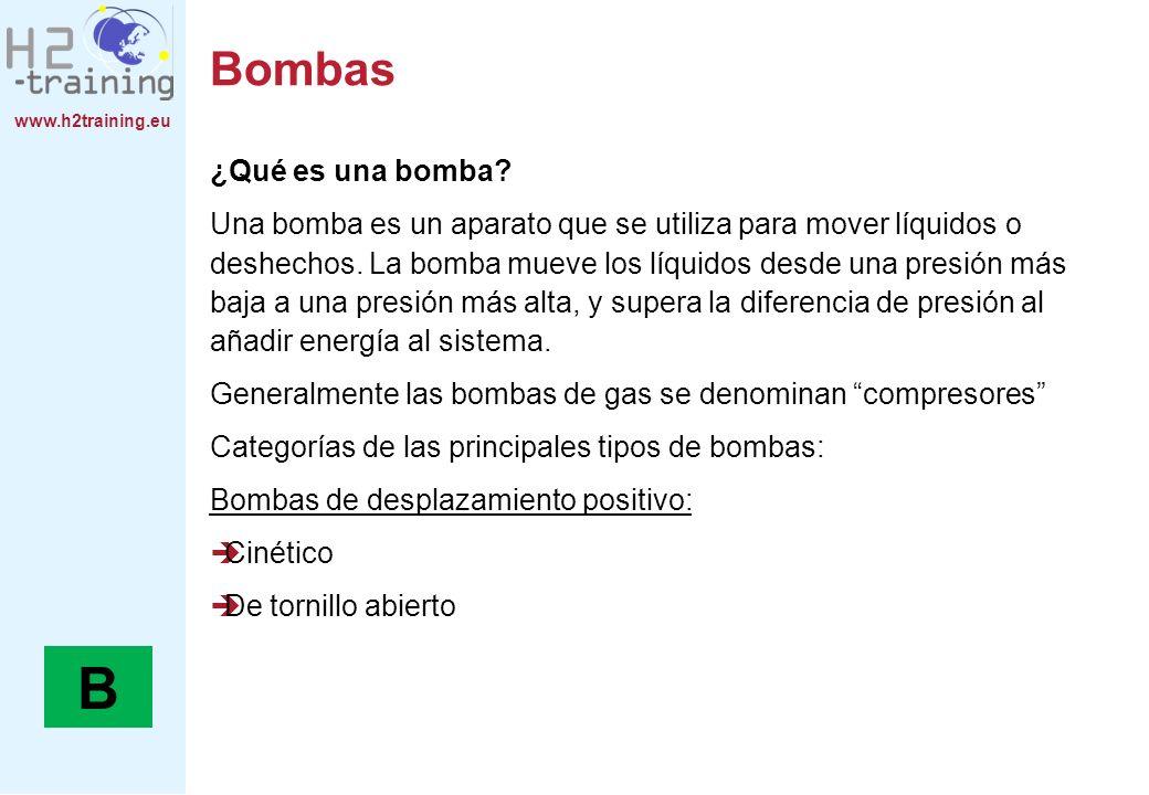 B Bombas ¿Qué es una bomba