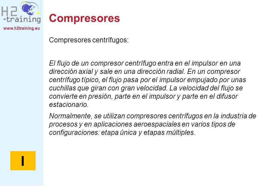 I Compresores Compresores centrífugos: