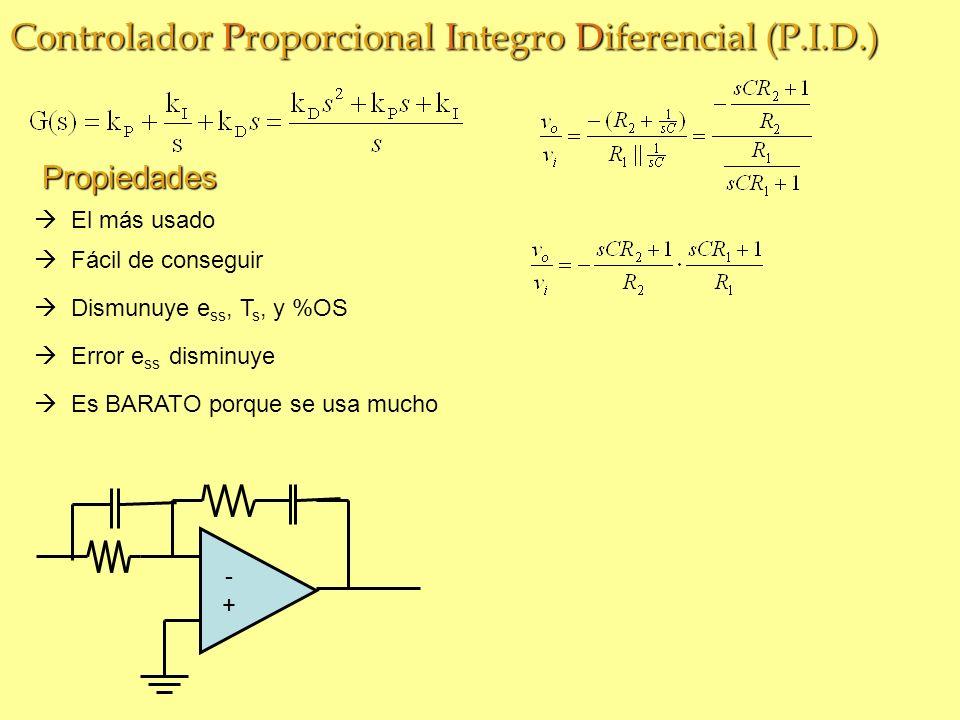 Controlador Proporcional Integro Diferencial (P.I.D.)