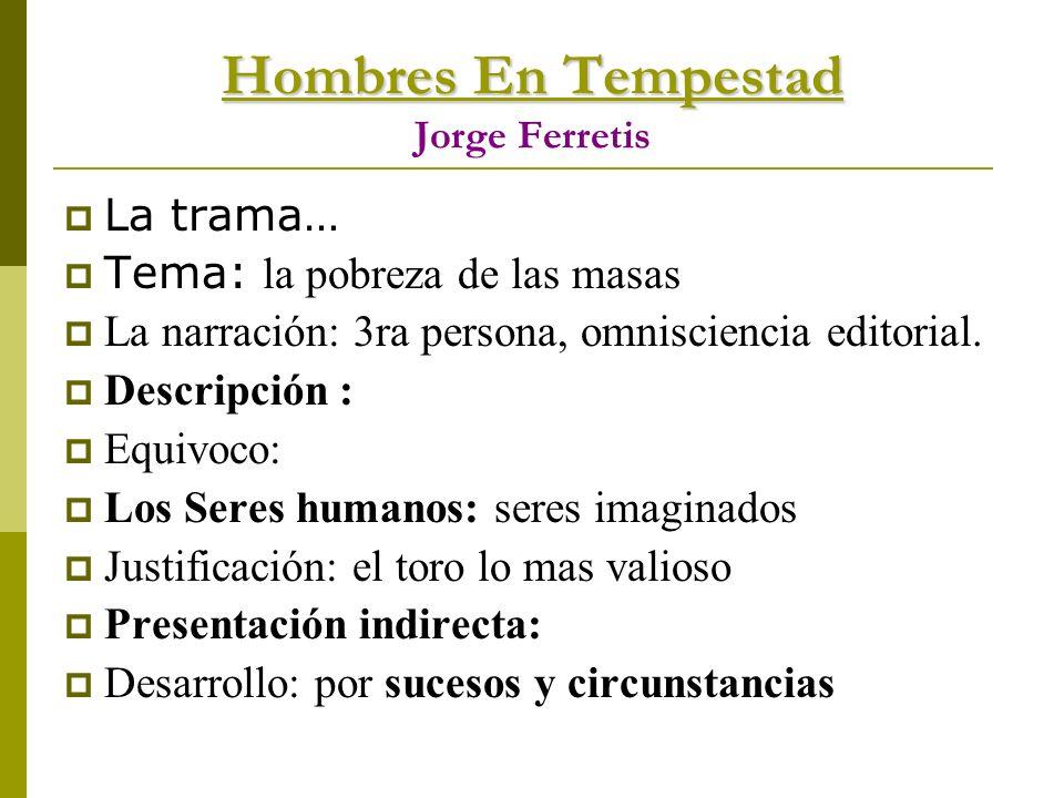 Hombres En Tempestad Jorge Ferretis