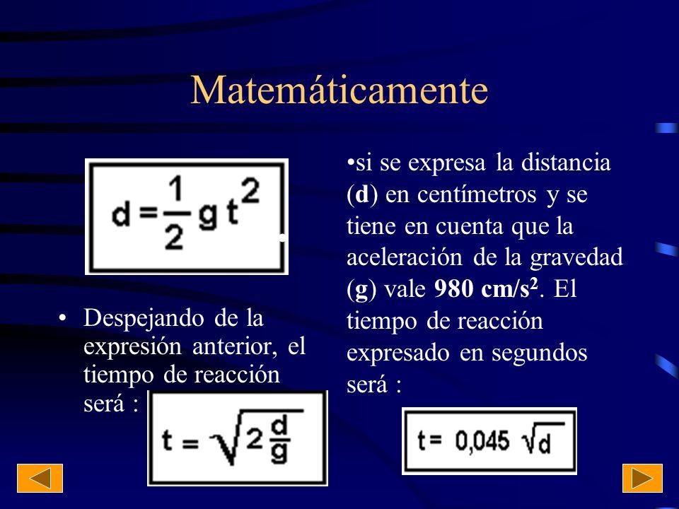 Matemáticamente