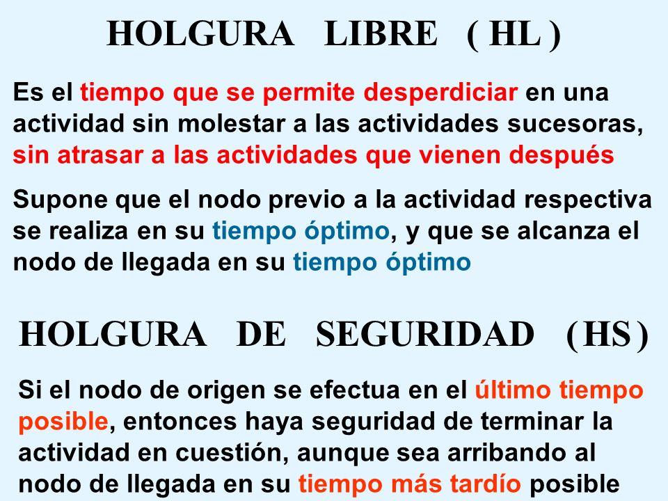 HOLGURA DE SEGURIDAD ( HS )