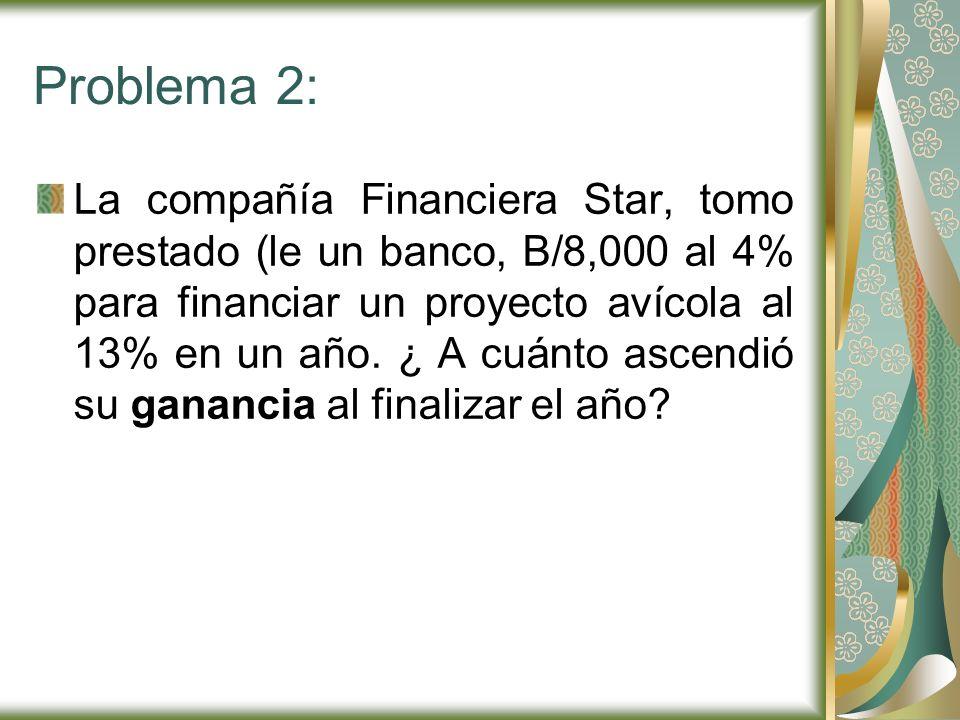 Problema 2: