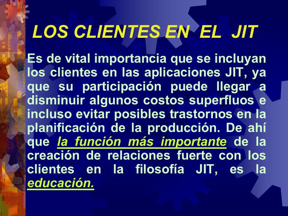 LOS CLIENTES EN EL JIT
