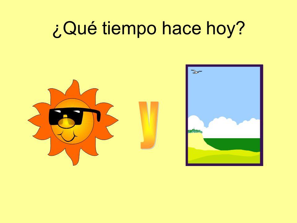 ¿Qué tiempo hace hoy y