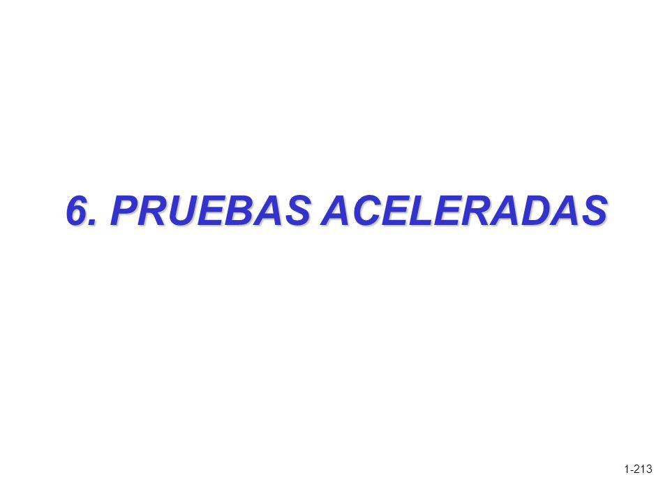 6. PRUEBAS ACELERADAS