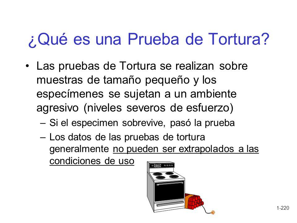 ¿Qué es una Prueba de Tortura
