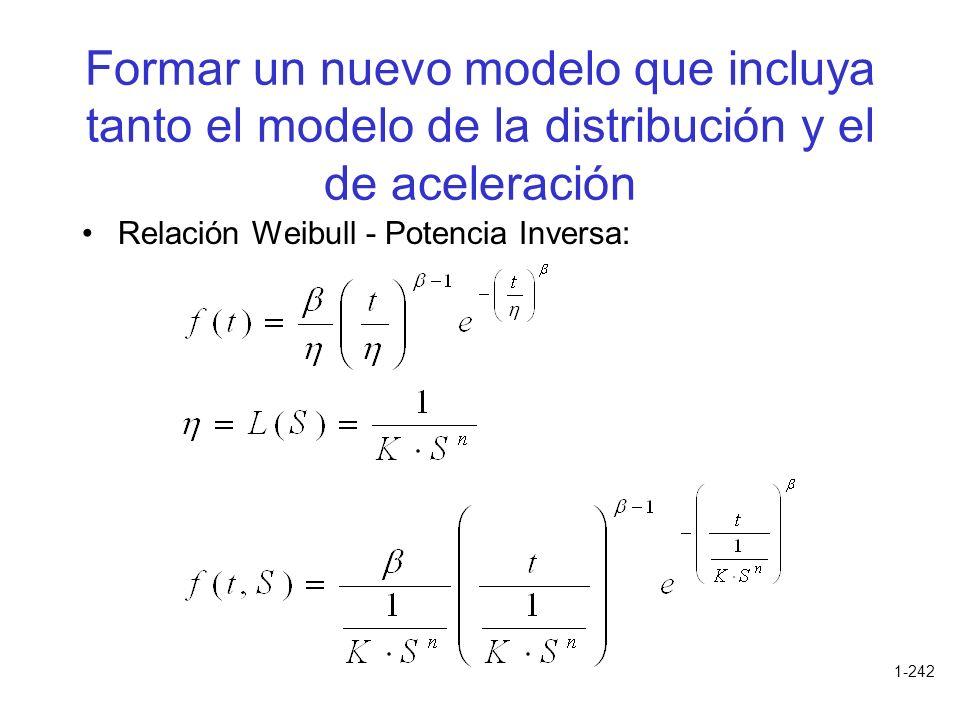 Formar un nuevo modelo que incluya tanto el modelo de la distribución y el de aceleración
