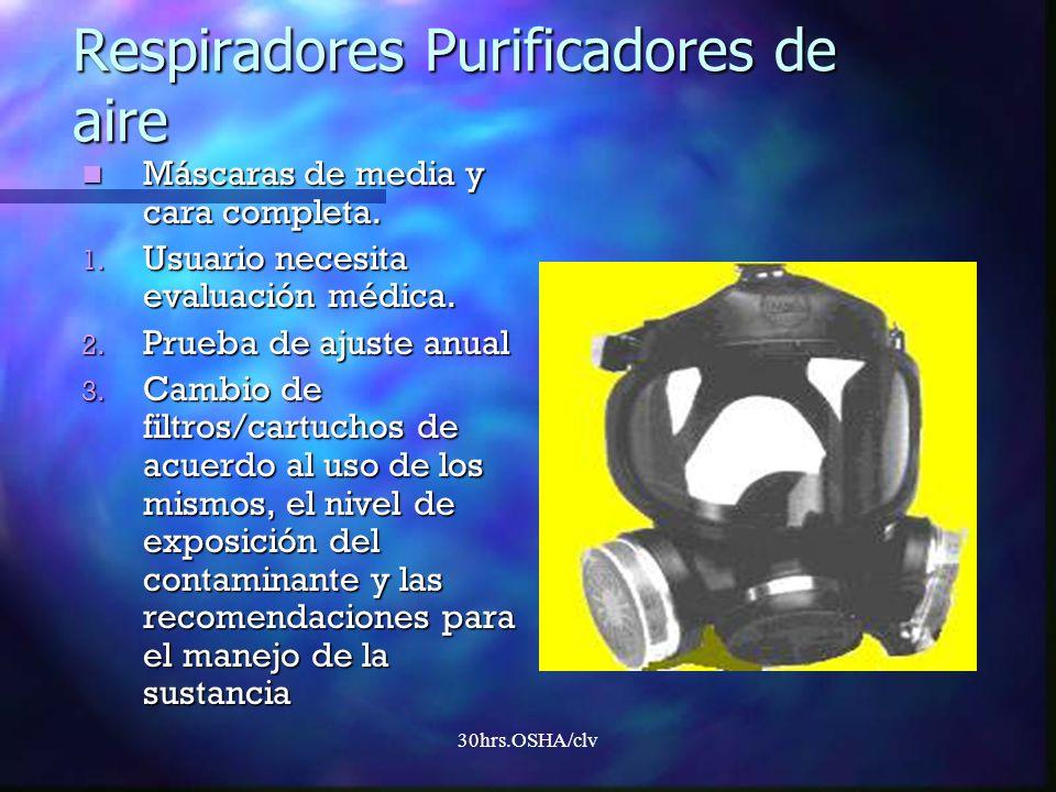 Respiradores Purificadores de aire