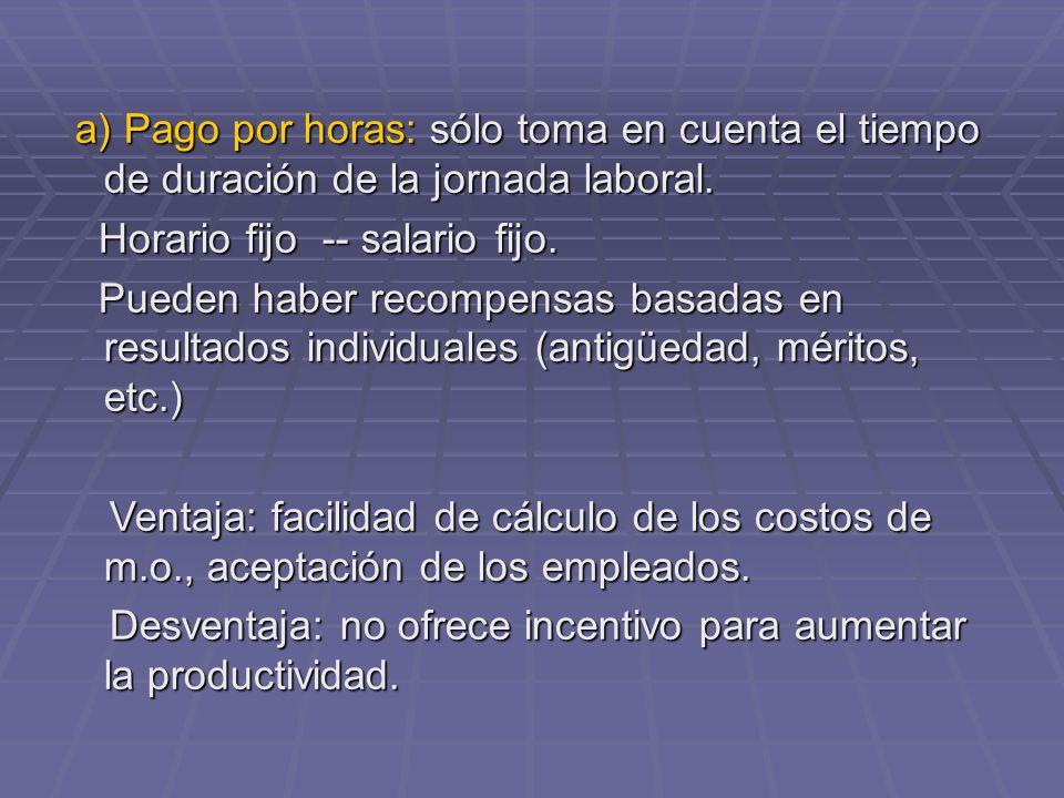 Tema 6 dise o medici n y compensaci n del trabajo ppt - Tiempo en badalona por horas ...