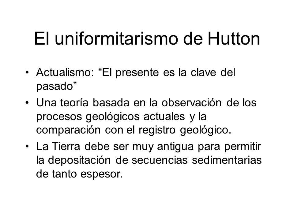 El uniformitarismo de Hutton