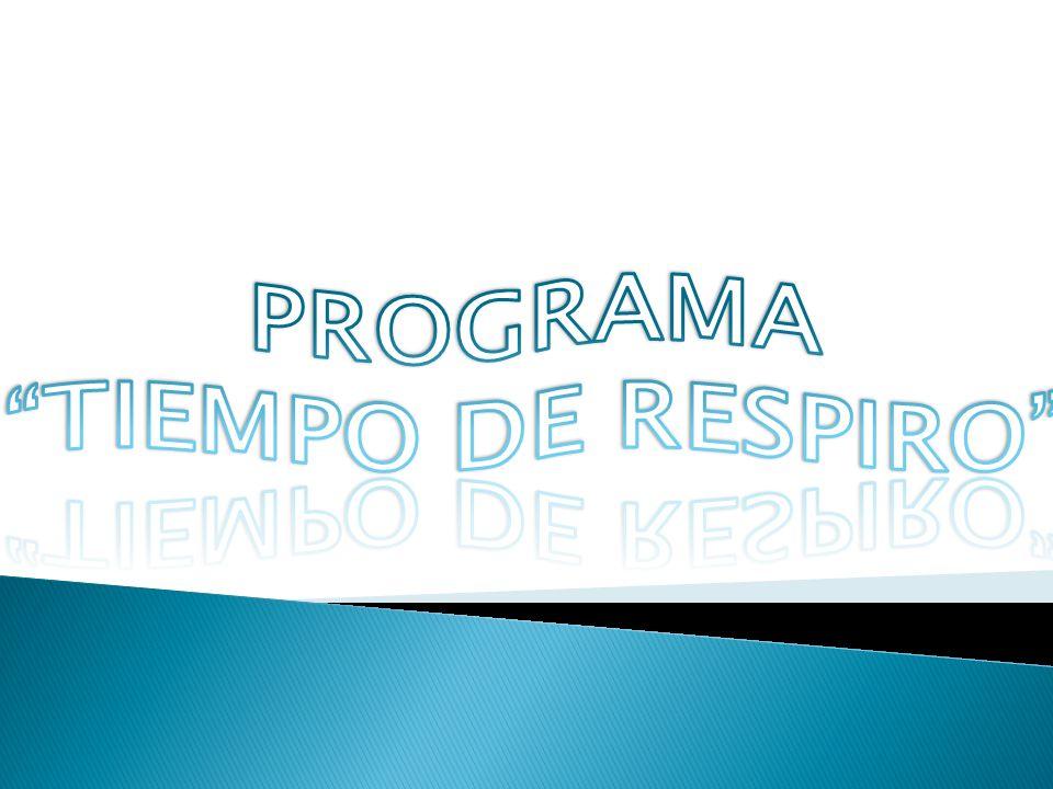 PROGRAMA TIEMPO DE RESPIRO