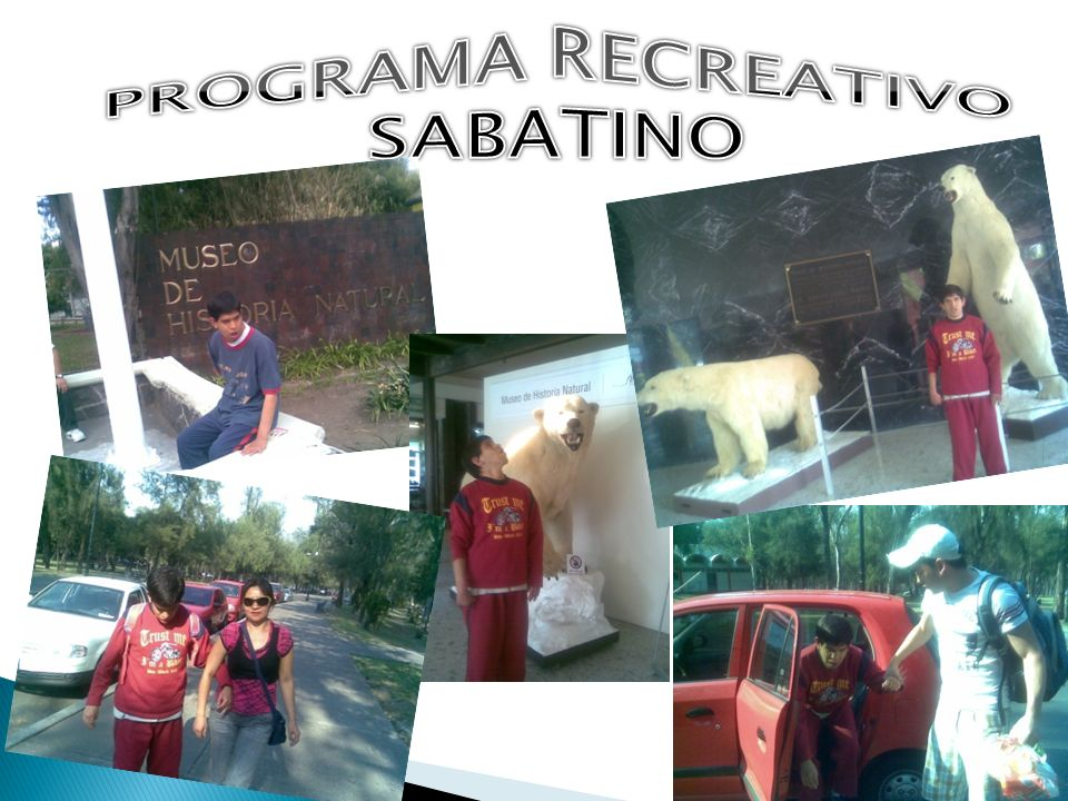 PROGRAMA RECREATIVO SABATINO
