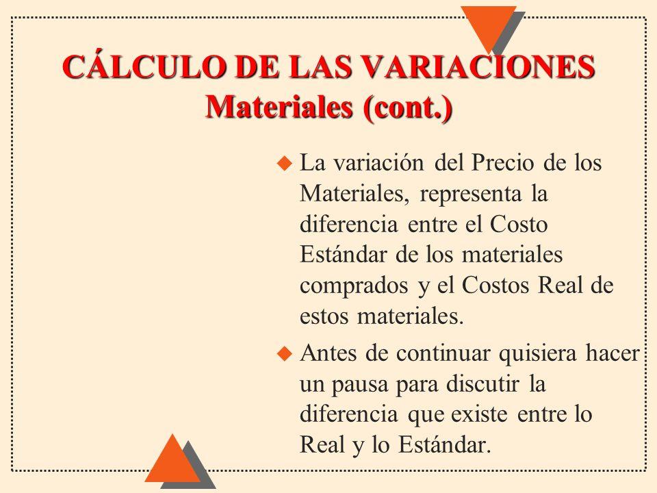CÁLCULO DE LAS VARIACIONES Materiales (cont.)