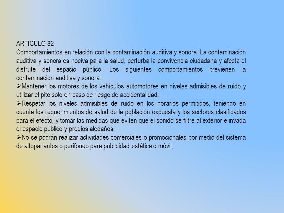 ARTICULO 82