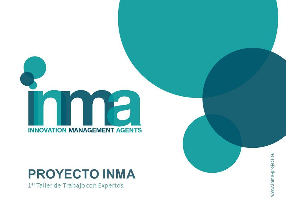 www.inma-project.eu PROYECTO INMA 1er Taller de Trabajo con Expertos