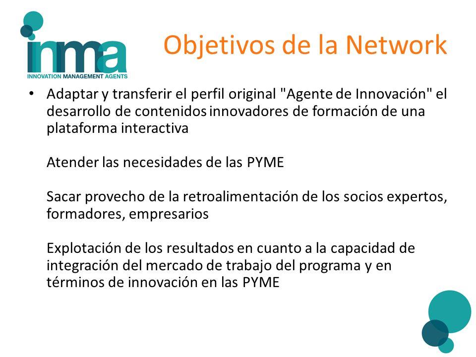 Objetivos de la Network