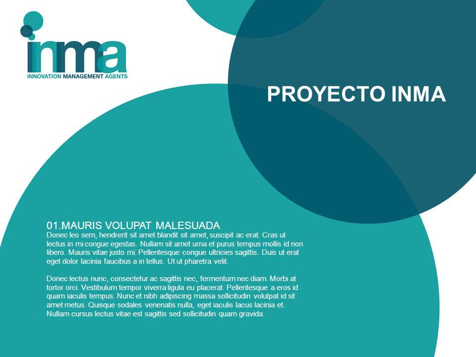 PROYECTO INMA 01.MAURIS VOLUPAT MALESUADA