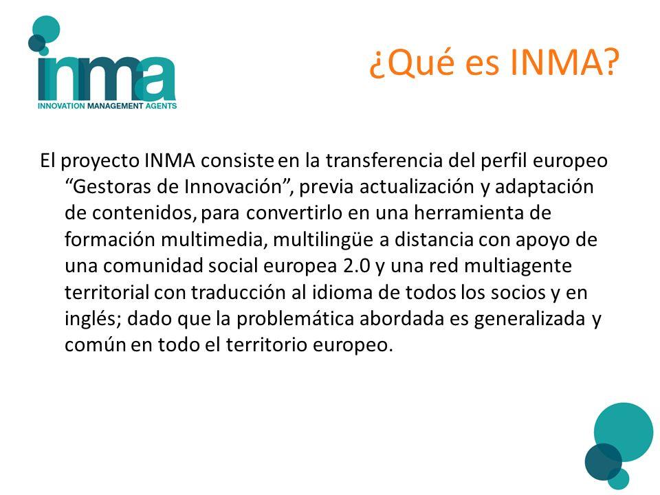 ¿Qué es INMA