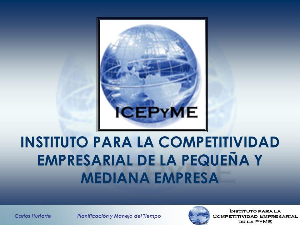 INSTITUTO PARA LA COMPETITIVIDAD EMPRESARIAL DE LA PEQUEÑA Y MEDIANA EMPRESA