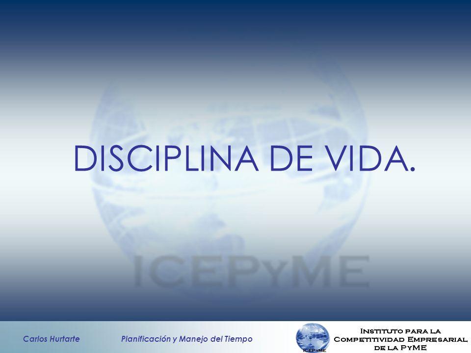 DISCIPLINA DE VIDA.