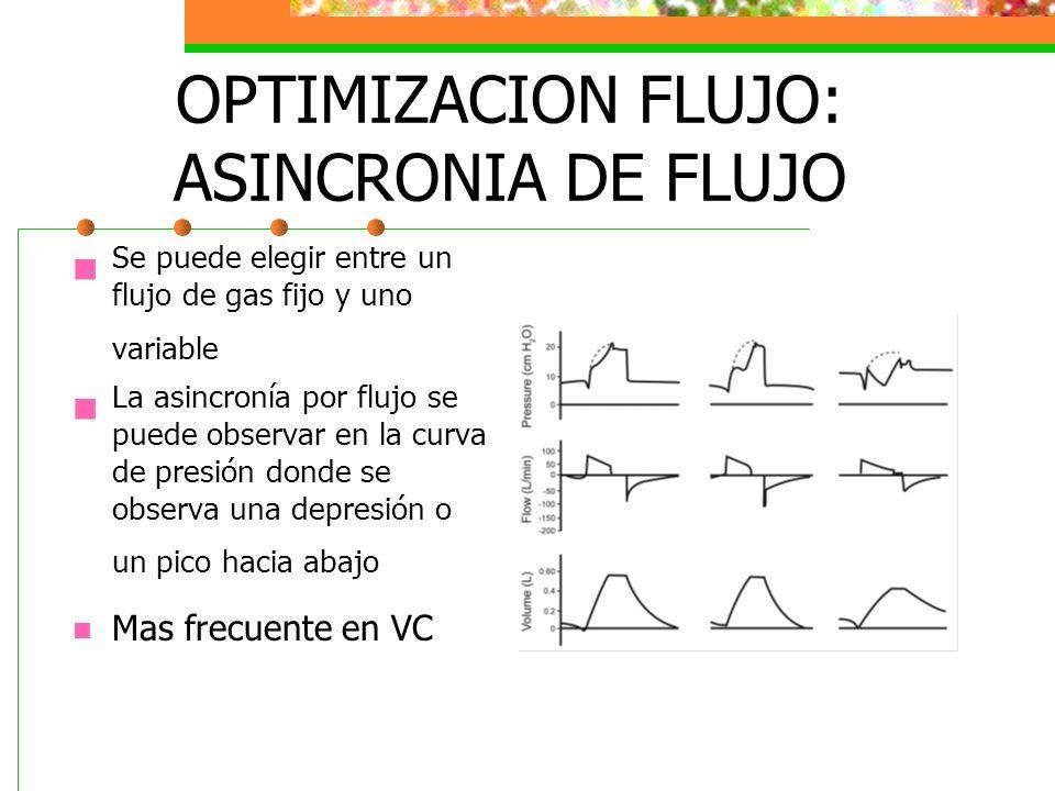 OPTIMIZACION FLUJO: ASINCRONIA DE FLUJO