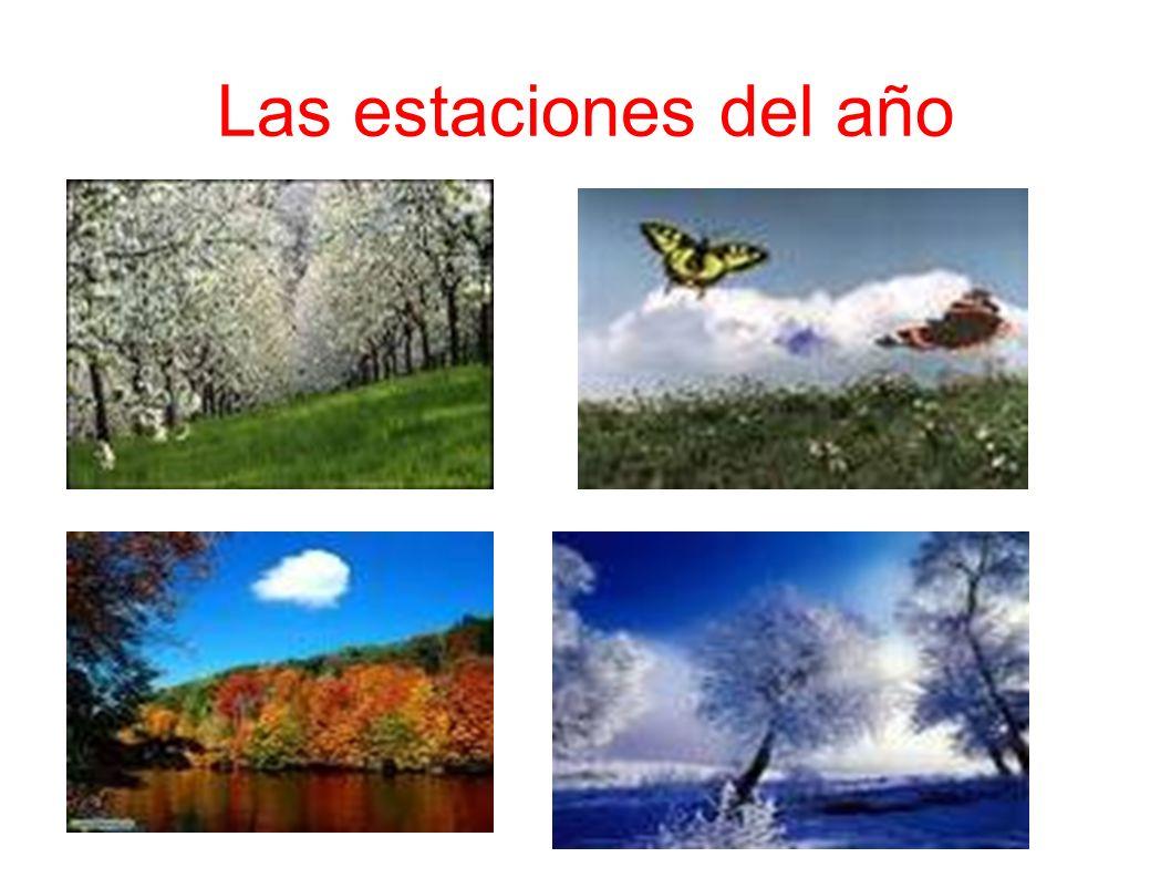 Las estaciones del año