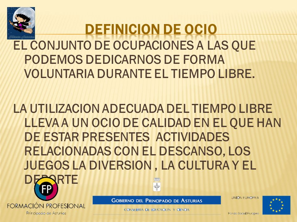 DEFINICION DE OCIO
