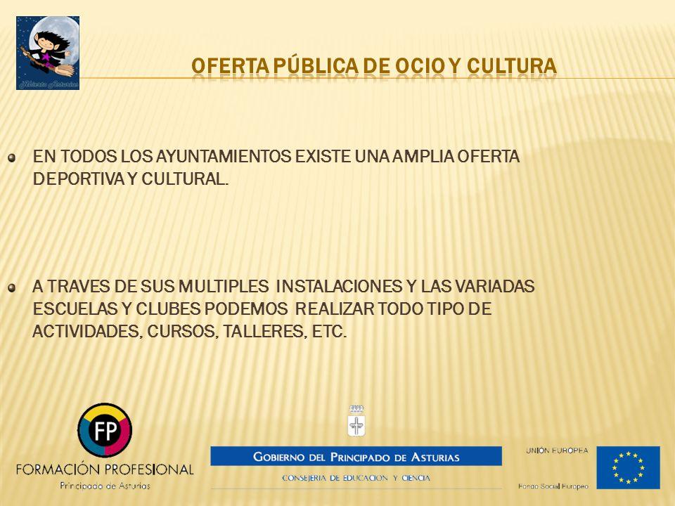 OFERTA PÚBLICA DE OCIO Y CULTURA