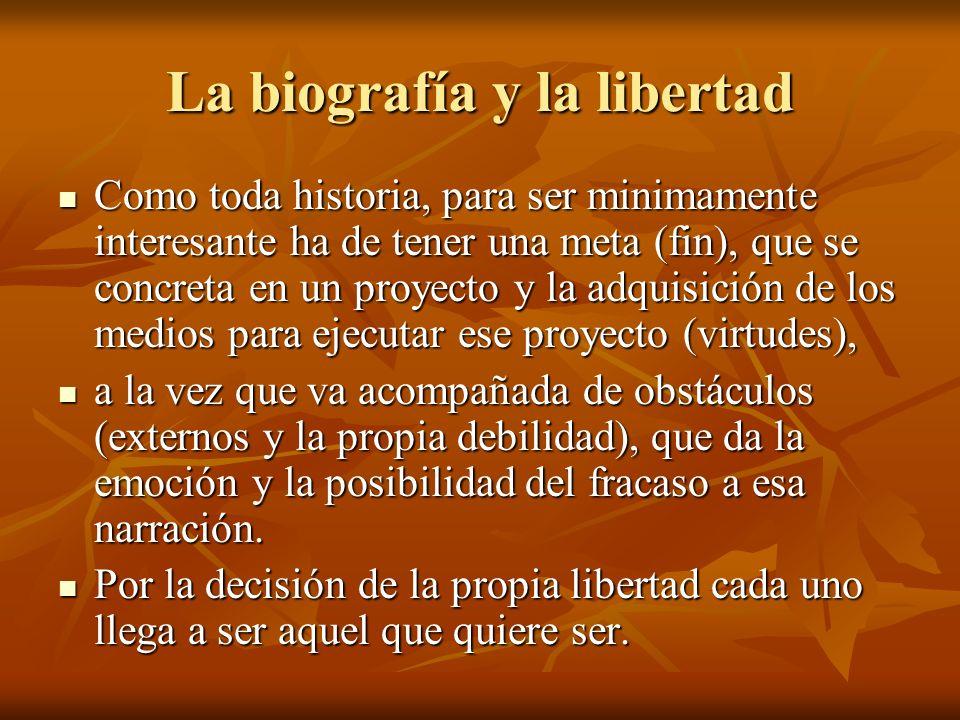 La biografía y la libertad