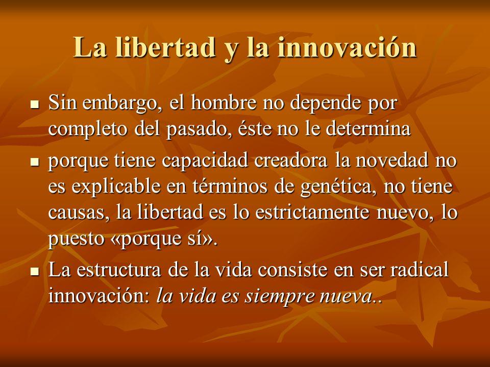 La libertad y la innovación