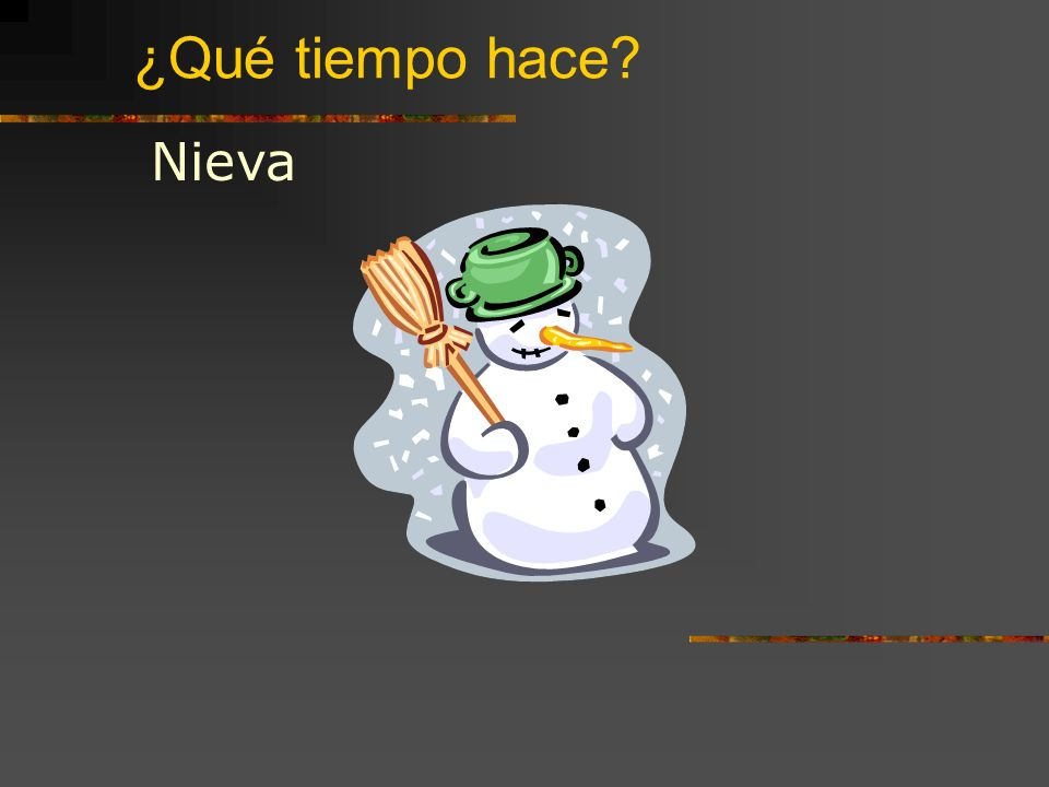 ¿Qué tiempo hace Nieva