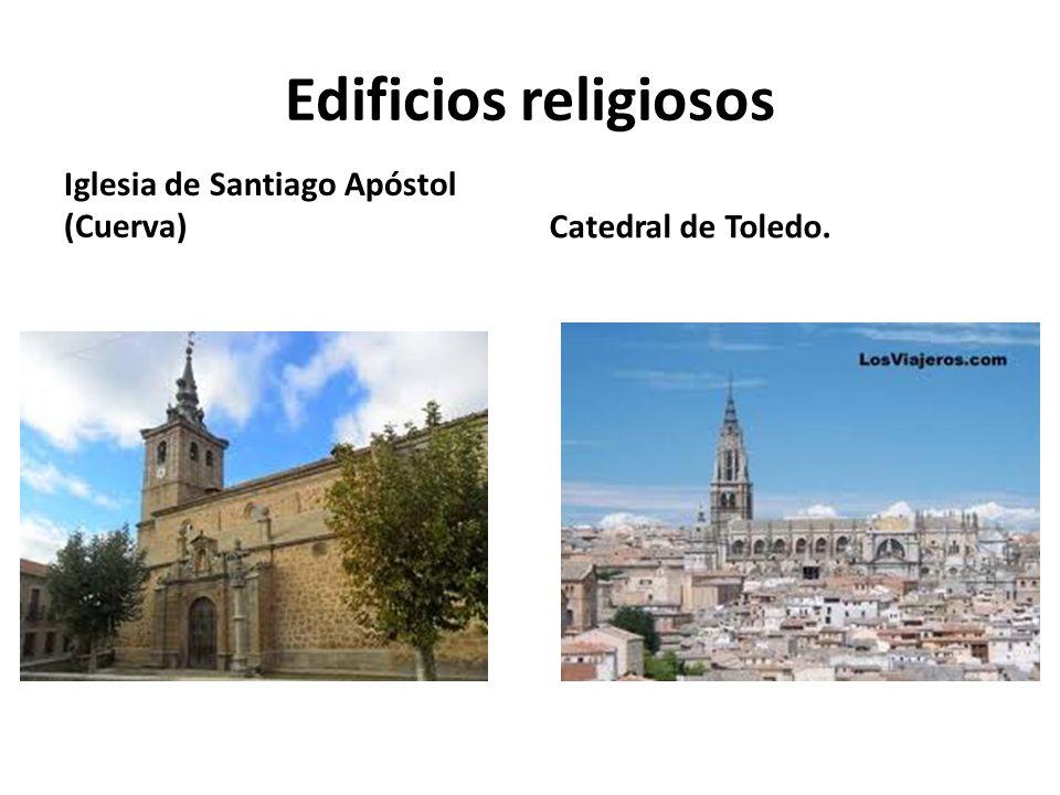 Edificios religiosos Iglesia de Santiago Apóstol (Cuerva)