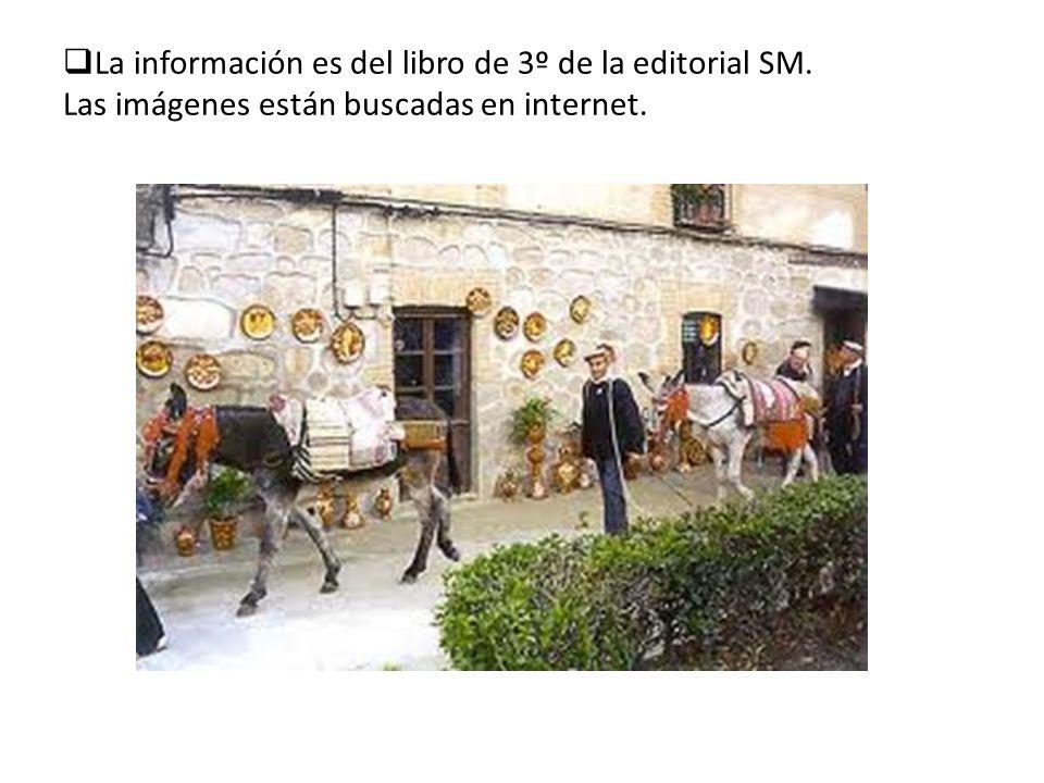 La información es del libro de 3º de la editorial SM