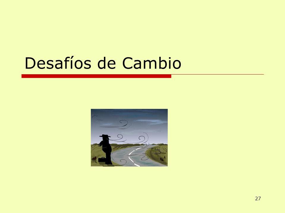 Lic. Eugenio Flores Desafíos de Cambio