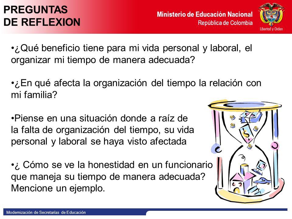 PREGUNTAS DE REFLEXION