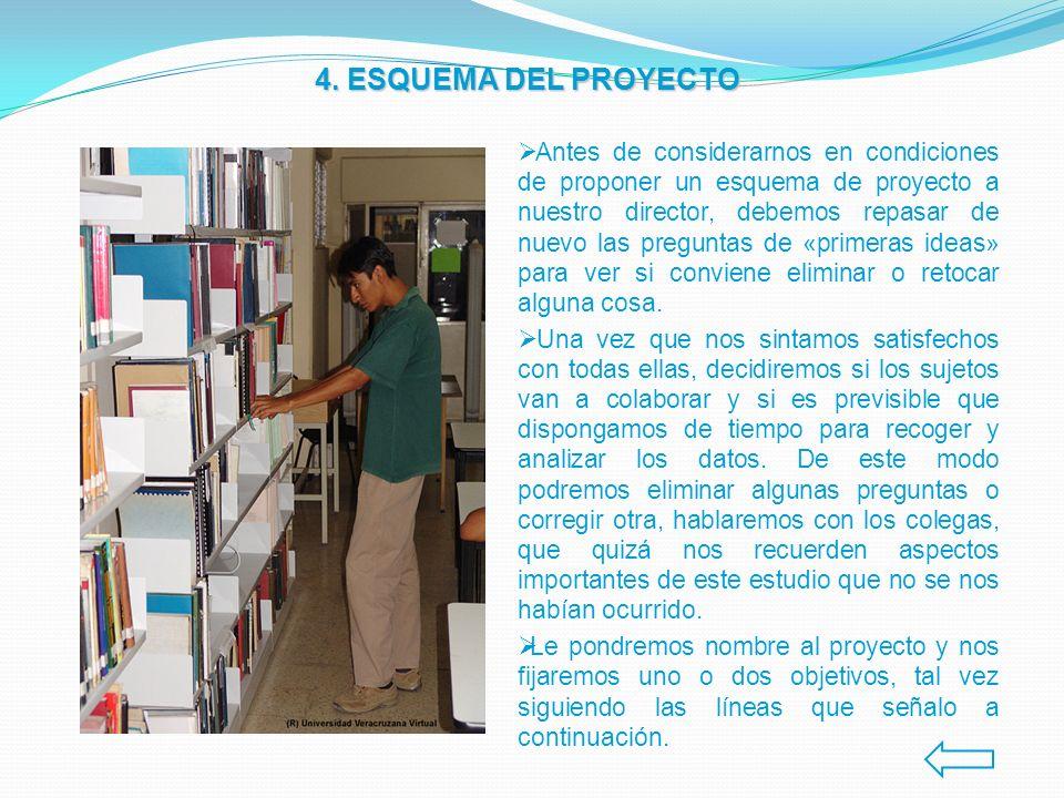 4. ESQUEMA DEL PROYECTO