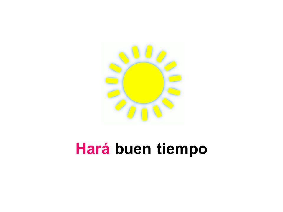 Hará buen tiempo