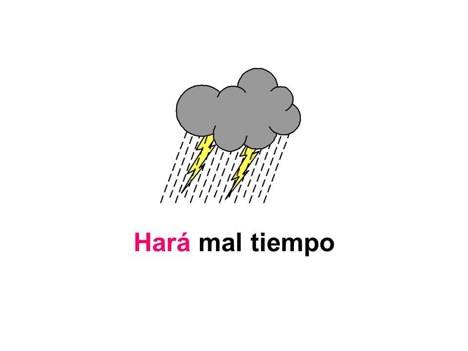 Hará mal tiempo