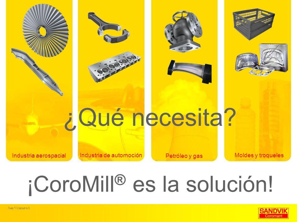 ¿Qué necesita ¡CoroMill® es la solución! Industria aerospacial