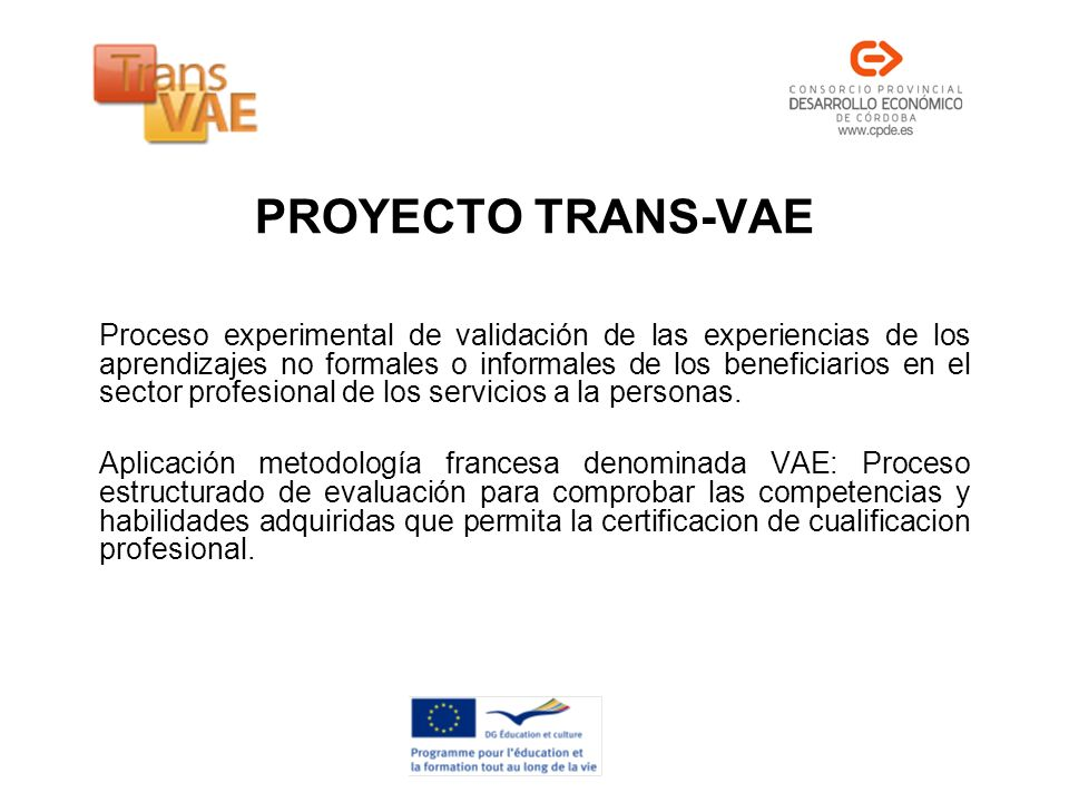 PROYECTO TRANS-VAE