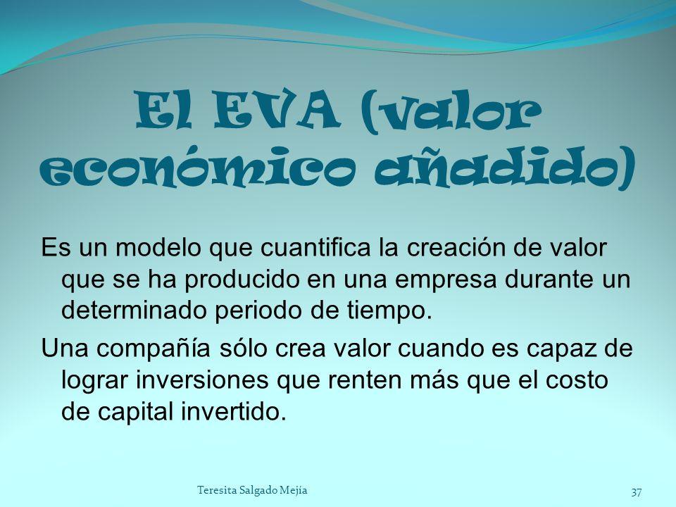 El EVA (valor económico añadido)