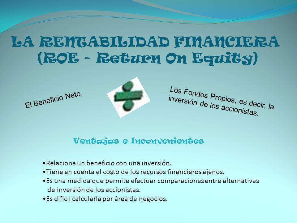 LA RENTABILIDAD FINANCIERA (ROE - Return On Equity)