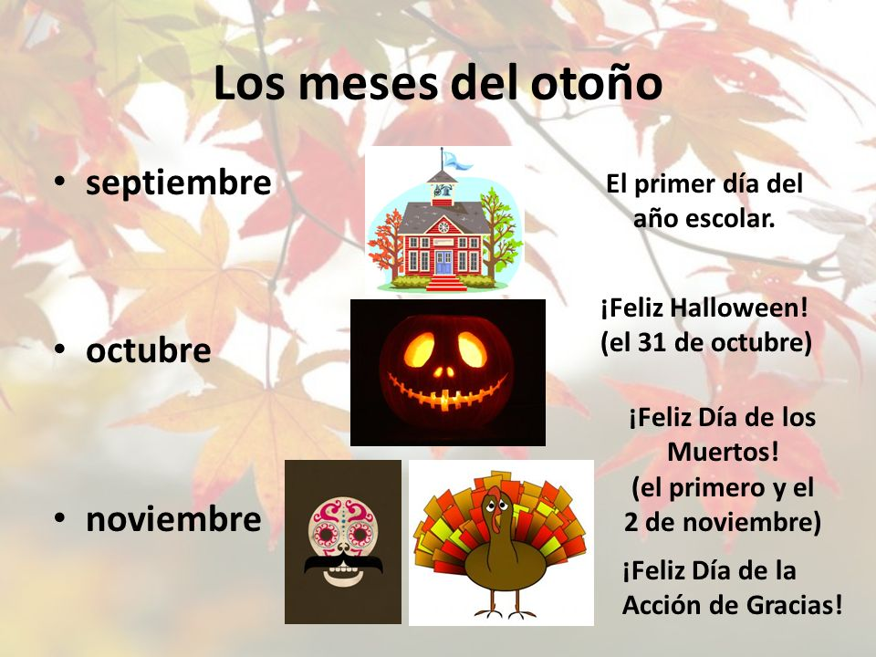 ¡Feliz Día de los Muertos! (el primero y el 2 de noviembre)