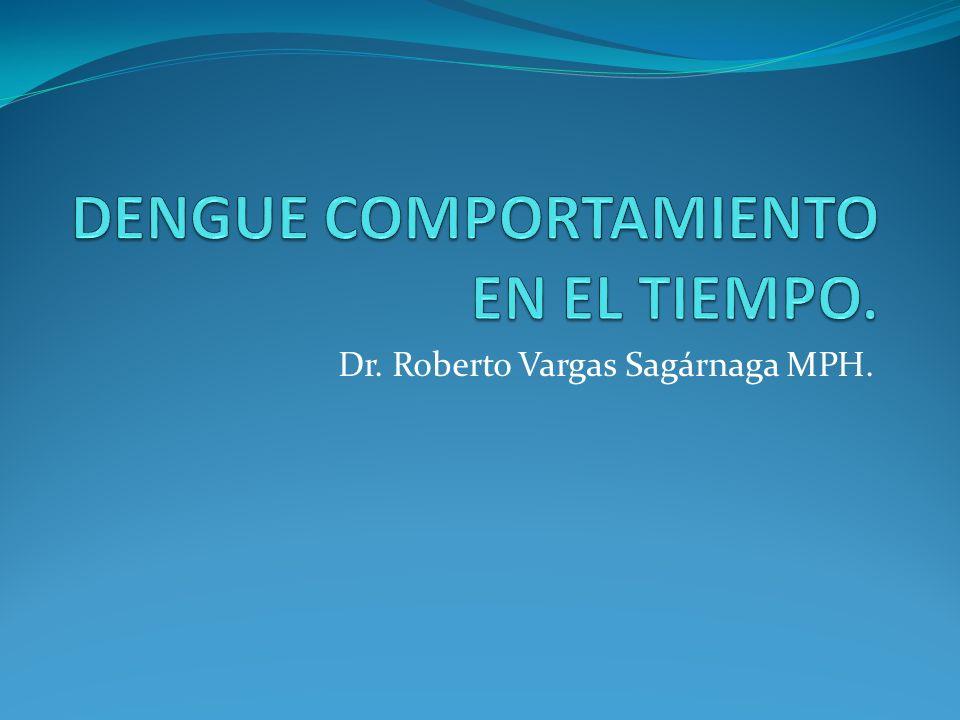 DENGUE COMPORTAMIENTO EN EL TIEMPO.